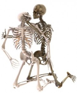 Erotische massage kan lang duren hier te zien een skelet die aan tantra sex doen