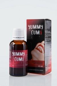 Sperma doorslikken, Voor betere smaak van spermaYummy Cum