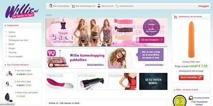 online sexshop willie.nl actie kortingcode