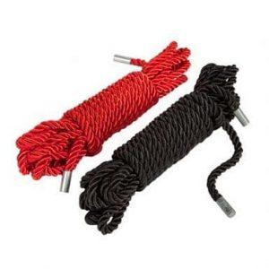 BDSM sex toys hier zie je bondage touw in twee kleuren