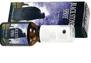 Black stone spray vertraagd de zaadlozing