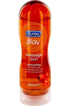 Durex glijmiddel massage gel 2 in 1