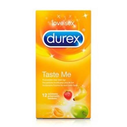 Durex condoom met taste me met een smaakje