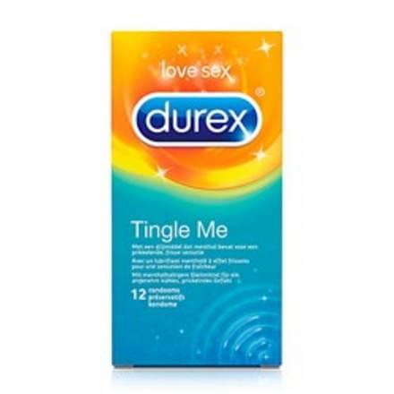 Durex condoom, tingle me voor een extra lekker gevoel