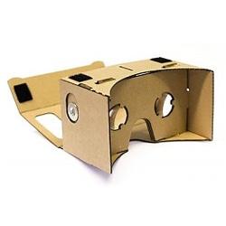 VR bril van cardboard