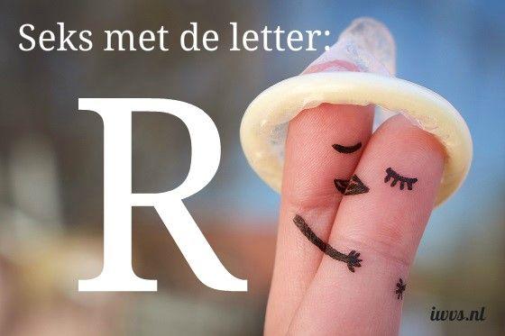 IWVS sekswoordenboek met de letter R