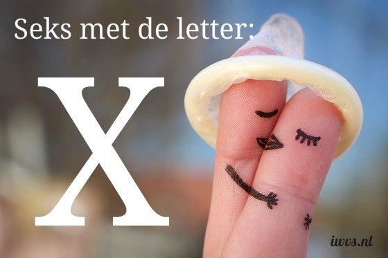 IWVS sekswoordenboek met de letter X