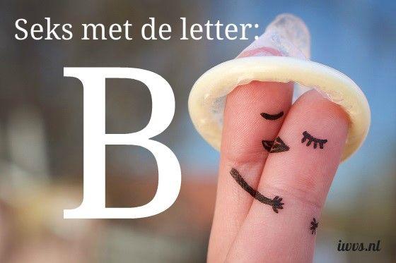IWVS sekswoordenboek met de letter B