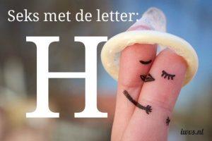 IWVS sekswoordenboek met de letter H
