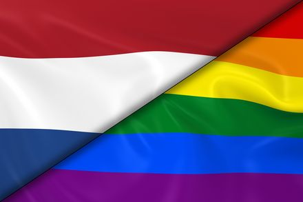 Transgenders gaan vaak naar de gay prite in Nederland