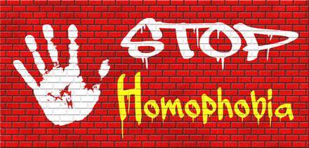 Homofobie is dat je angst ovor homoseksualiteit hebt