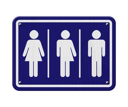 Transgender boord zodat je kan zien dat er tussen man en vrouw ook nog iets anders is