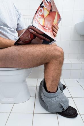 maturberen op de wc is niet geheel ongebruikelijk