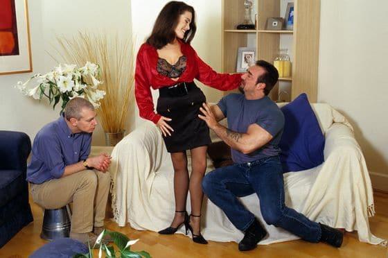 Cuckolding kan ook met meerdere personen gespeeld worden