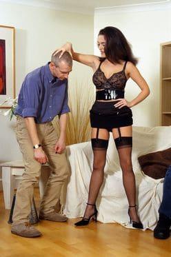 de vrouw is vaak dominant in een cuckolding spel