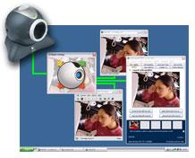 Werken op verschillende webcamplatforms probeer splitcamsoftware uit