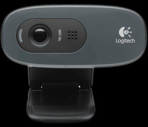 webcammodel en computer benodigheden voor webcamwerk hier een webcam