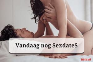 Vandaag nog een sexdate
