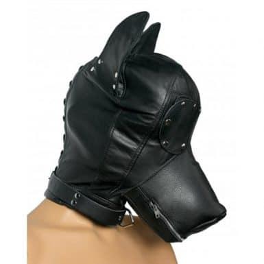 Kietelveer gecombineerd met een masker