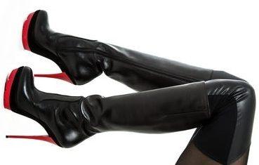laarzen fetisj kan heel opwindend zijn