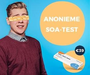 Chemsex daarna doe je natuurlijk wel een soa test