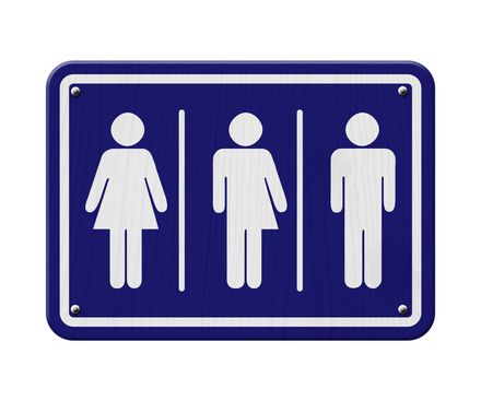 transgender zit er net tussen in