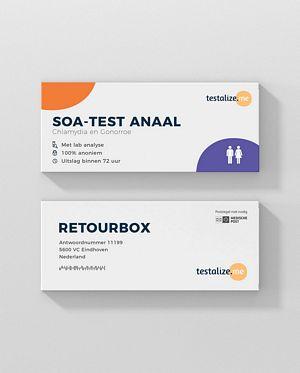 Als jij onveilige anale seks hebt gehad bestel dan de SOA thuistest anaal